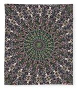 Forest Mandala 2 Fleece Blanket