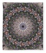 Forest Mandala 5 Fleece Blanket