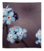 Forget Me Not 01 - S05dt01 Fleece Blanket