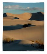 Form And Light At Death Valley Fleece Blanket