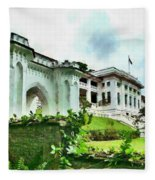 Fort Canning Park Visitor Centre Fleece Blanket