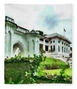 Fort Canning Park Visitor Centre Fleece Blanket