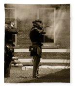 Fort Delaware Soldiers Fleece Blanket