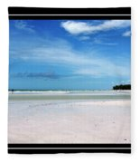 Fort Desoto Beach Fleece Blanket
