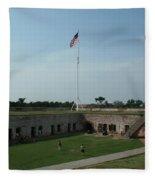 Fort Macon Fleece Blanket