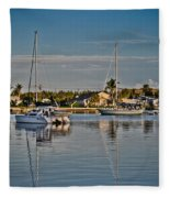 Fort Pierce Sweetness Fleece Blanket