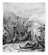 Fort Pillow Massacre, 1864 Fleece Blanket