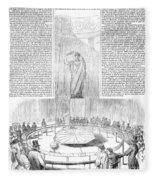 Foucaults Pendulum, 1851 Fleece Blanket
