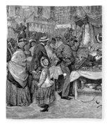 Fourth Of July, 1888 Fleece Blanket