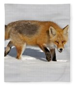 Foxy Lady Fleece Blanket