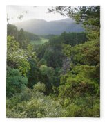 Foyers Valley Fleece Blanket