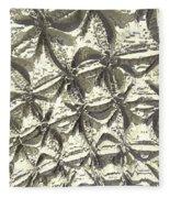 Fractal Wall Fleece Blanket