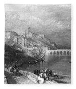France: Blois Fleece Blanket