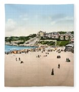 France: Casino, C1895 Fleece Blanket