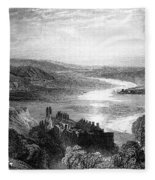France: Chateau, 1853 Fleece Blanket