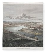 France: Dieppe, 1822 Fleece Blanket