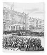 France: Revolution Of 1848 Fleece Blanket