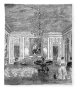 France: Royal Visit, 1855 Fleece Blanket