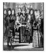 France: Royal Wedding Fleece Blanket