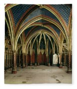France: Ste. Chapelle Fleece Blanket