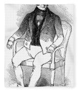 Francois Vidocq (1775-1857) Fleece Blanket