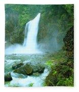 Franklin Falls   Fleece Blanket