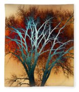 Freaky Tree 1 Fleece Blanket
