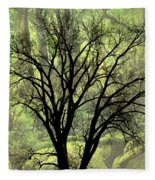 Freaky Tree 2 Fleece Blanket