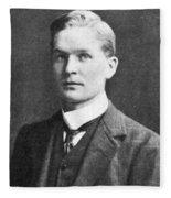 Frederick Soddy, English Radiochemist Fleece Blanket