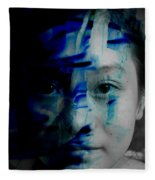 Free Spirited Creativity Fleece Blanket