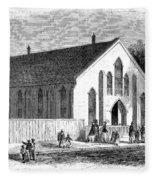Freedmen School, 1867 Fleece Blanket