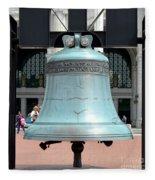 Freedom Bell Fleece Blanket