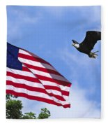 Freedom Feeds The Family Fleece Blanket