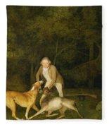 Freeman - The Earl Of Clarendon's Gamekeeper Fleece Blanket