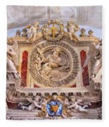 French Church Detail Fleece Blanket