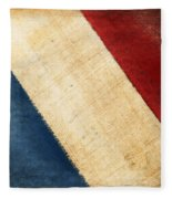 French Flag Fleece Blanket
