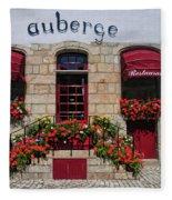 French Restaurant   Fleece Blanket
