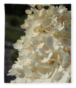 French Vanilla Hydrangea Fleece Blanket
