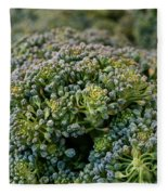 Fresh Broccoli Fleece Blanket