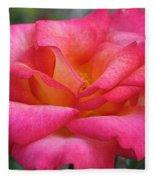 Fresh Floral Fleece Blanket