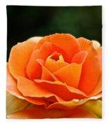 Fresh Peach Petals Fleece Blanket