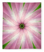 Fresh Pink Fleece Blanket