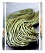 Fresh Tagliolini Pasta Fleece Blanket