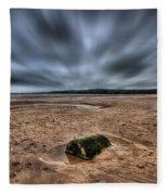 Freshwater West Blur Fleece Blanket