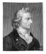 Friedrich Schiller Fleece Blanket