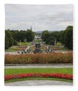Frogner Park Fleece Blanket
