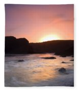 From Light To Light Fleece Blanket