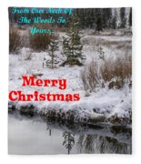 From Our Neck Of The Woods To Yours Fleece Blanket