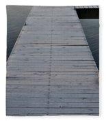 Frosted Dock Fleece Blanket