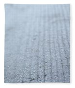 Frosted Woodgrain Fleece Blanket